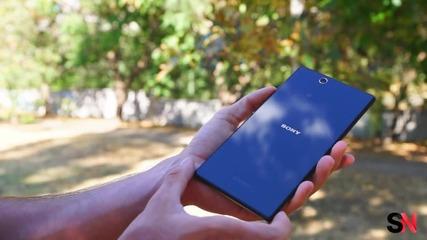 Ревю: Sony Xperia Z Ultra – голям телефон за големия град