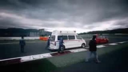 New 2009 Nissan Gtr R35 Test Run @ Race Track