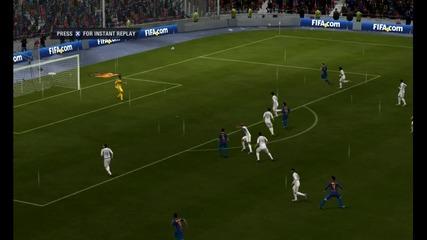 Fifa 12 - Гол от центъра на воле!