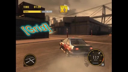 Grid Drift 2 Minutes With Toyota Corola