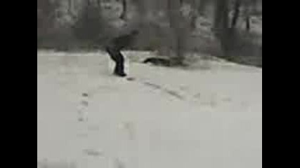 Луд Сноубордист