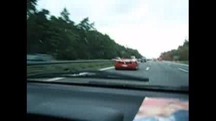 Ferrari F50 И Опел Тигра