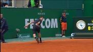 Григор Димитров с фантастично изпълнение срещу Алберт Рамос в Монте Карло 16.04.2014