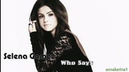15 . Превод!!! Selena Gomez - Who Says ( Bimbo Jones Raduio Remix )