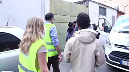 Italy: Rome's authorities evict makeshift refugee camp