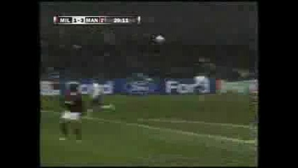 Ac Milan vs Manchester United 2:3 всички голове