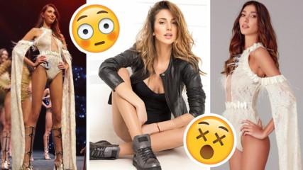 Тя е Мис Турция 2018 г.! Тя е двойничка на... Александра Петканова!