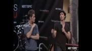 Среща с феновете на Иън и Пол от The Vampire Diaries