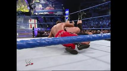 Wwe Chris Benoit vs A-train - Smackdown 20.02.2003