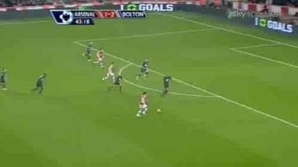 Arsenal - Bolton 4:2 (2010)