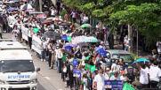 Thailand: Protesters demand reform of monarchy at Bangkok rally
