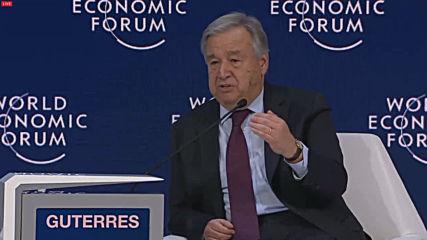 Switzerland: We are not winning climate war, warns Guterres