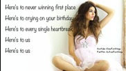 Victorious - Victoria Justice - Here's 2 Us - Lyrics