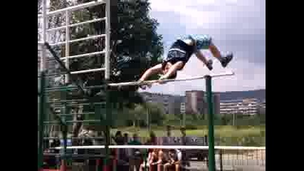 Street Fitness turnir Stara Zagora Valentin Stoqnov