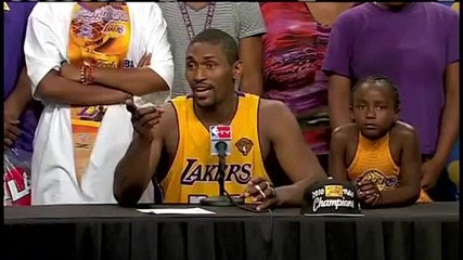 Ron Artest Postgame Conference Interview Finals 2010