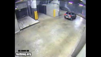 Проблем при излизане от паркинга
