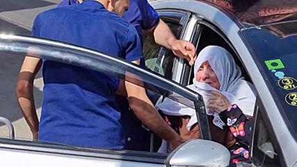 State of Palestine: Women, children take shelter at UNRWA school in Gaza amid ongoing Israeli raids