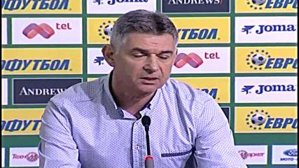 Рангелов: Мястото на ЦСКА не е в нашата група