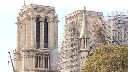 France: 'It has sentimental value for us' - Parisians respond as Notre Dame work resumes