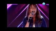 15 годишната Михаела Маринова покори сърцата на всички с прелестен глас { X Фактор - 19.09.2013 }