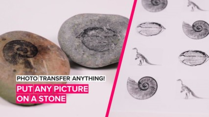 How to Photo Transfer Anything: Images on rocks made easy
