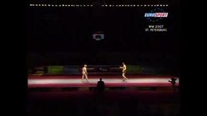 Mens Epée Final St. Petersburg 2007  bout 3