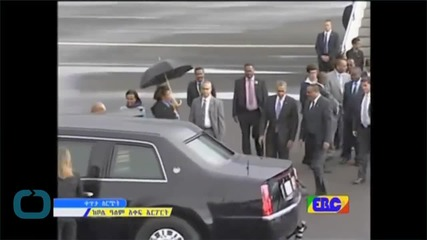 Obama in Ethiopia on Africa Tour to Boost Security, Other Ties