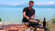 Италиански боб с наденица и чеснови хлебчета | Италиански експрес с Джино | 24Kitchen Bulgaria