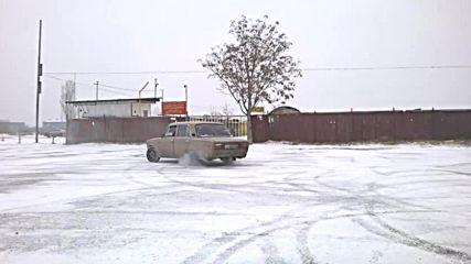 lada 2106 v zimni oslovia