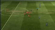 Fifa 11 Яко прехвърлящо голче на David Villa - режим онлайн