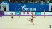 България - ленти - финал - Гран При Москва 2016