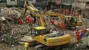 Четири жилищни сгради се срутиха в Китай