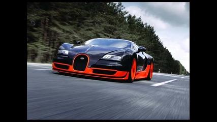 Най - мощният звяр на пътя - Bugatti Veyron Super Sport