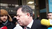 Николай Ненчев преди Изпълнителния съвет на РБ
