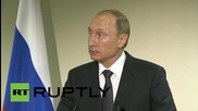 """UN: """"We have a lot of common visions and opinions"""" - Putin on Obama"""