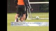Франк Лампард няма да играе срещу Сан Марино