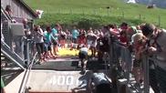 Най-тежкото и състезание на полувертикално трасе (the Red Bull 400)