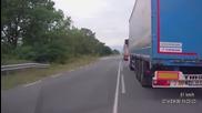 Колко е трудно да се изпреварят камиони по Бг пътищата