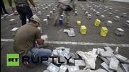 Panama: Navy seizes 1.9 tonnes of drugs off Panama's coast