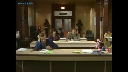 mr. Bean отива на училищен изпит
