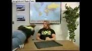 Шон Майкълс си играе със самолетче - Wwe