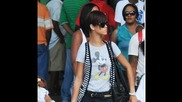 Rihanna And Chris Brown On The Beach