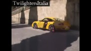 Alices Porsche in Montepulciano