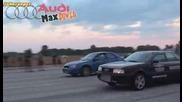 Audi 80 Quattro Turbo vs Subaru Impreza Wrx Sti