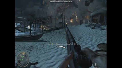 call of duty world at war gameplay