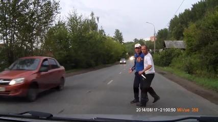 Разбойници на пътя
