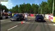Ford Mustang Gt500 vs Corvette Z06 superchaged