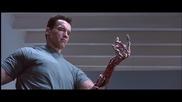 Терминатор 2 / Показването на роботската ръка