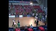 Георг и Хриси - шампиони на Южна Европа по спортни танци