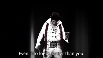 Michael Jackson Vs Elvis Presley.епични рап битки на историята сезон 2 .